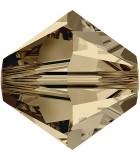 TUPI DE CRISTAL SWAROVSKI COLORES 4 mm 50 UNIDADES : color:Smoky Quartz