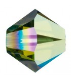 TUPI CRISTAL SWAROVSKI COLORES AB2X 4 mm 50 UNID. : color:Olivine