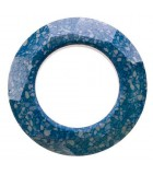 COSMIC RING SWAROVSKI CERAMICS 30 MM 1 UNIDAD : CERAMICS B:Marbled Blue