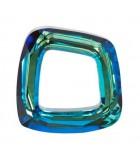 VENTANA COSMIC CRISTAL SWAROVSKI 20 MM : color:Bermuda Blue