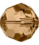 BOLA SWAROVSKI FACETADA 5000 10 MM : Unidades:Envase 5 Unidades, color:Golden Shadow