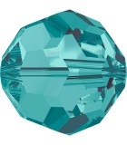 BOLA SWAROVSKI FACETADA 5000 6 MM COLORES CLÁSICOS : Unidades:Envase 10 Unidades, color:Blue Zircon