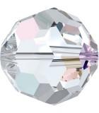 BOLA SWAROVSKI FACETADA 5000 6 MM COLORES CLÁSICOS : Unidades:Envase 10 Unidades, color:Cristal AB