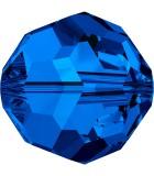 BOLA SWAROVSKI FACETADA 5000 6 MM COLORES CLÁSICOS : Unidades:Envase 10 Unidades, color:Sapphire