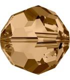BOLAS FACETADAS SWAROVSKI 8 MM COLORES EXCLUSIVOS : Unidades:Envase 5 Unidades, color:Golden Shadow