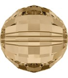 BOLA CHESSBOARD SWAROVSKI 16 MM 1 UNIDAD : color:Golden Shadow
