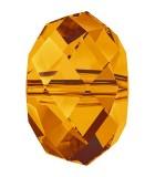 BOLA APLASTADA CRISTAL SWAROVSKI 8 MM 5 UNIDADES : color:Crystal Copper