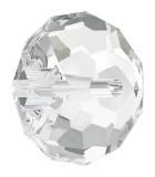 BOLA APLASTADA CRISTAL SWAROVSKI 8 MM 5 UNIDADES : color:Cristal