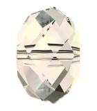 BOLA APLASTADA CRISTAL SWAROVSKI 8 MM 5 UNIDADES : color:Crystal Moonlight