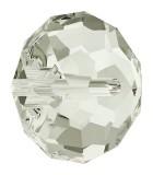 BOLA APLASTADA CRISTAL SWAROVSKI 8 MM 5 UNIDADES : color:Crystal Silver Shade