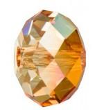 RONDEL CRISTAL SWAROVSKI 18 MM 1 UNIDAD : color:Crystal Copper