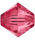 TUPI DE CRISTAL SWAROVSKI COLORES 3 mm 50 UNIDADES : color:Indian Pink
