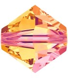 TUPI SWAROVSKI  CRYSTAL+EFECTO 4 mm 50 UNIDADES : color:Crystal Astral Pink