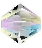 TUPI  SWAROVSKI CRYSTAL EFECTO 2X 4 mm 50 UNID. : color:Crystal Shimmer 2x