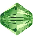 TUPI CRISTAL SWAROVSKI COLORES SATIN 4 mm 50 UNID. : color:Peridot