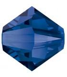 TUPI CRISTAL SWAROVSKI COLORES 4 mm 50 UNIDADES : color:MAJESTIC BLUE