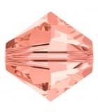 TUPI CRISTAL SWAROVSKI COLORES 4 mm 50 UNIDADES : color:Rose Peach