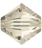 TUPI SWAROVSKI  CRYSTAL+EFECTO 6 mm 25 UNIDADES : color:Crystal Silver Shade