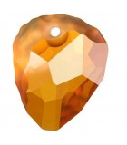 ROCK PENDANT CRISTAL SWAROVSKI 35 MM 1 UNIDAD : color:Crystal Copper