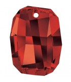 COLGANTE GRAPHIC SWAROVSKI 19x15x7 MM 1 UNIDAD : color:Crystal Red Magma