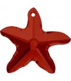 ESTRELLA DE MAR DE CRISTAL SWAROVSKI DE 20 MM : color:Crystal Red Magma, Unidades:1 unidad