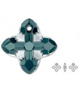 CRUZ TRIBAL CRISTAL SWAROVSKI 24x24x7  MM COLORES