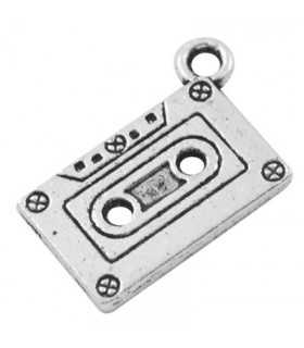 CASETTE TAPE METAL 20x13x2 MM 5 UNIDADES