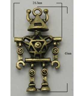 ROBOT METAL 3D 45x24x8 MM 1 UNIDAD