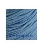 HILO ELÁSTICO GOMA 1 MM BOBINA 21 METROS : color:Azul Claro