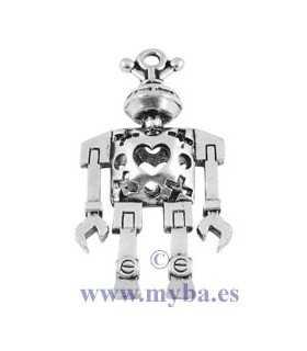 ROBOT METAL 3D 46x25x9 MM 1 UNIDAD