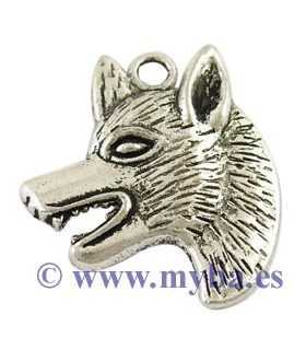 LOBO METAL 35x30x4 MM ANILLA INT. 3 MM 2 UNIDADES