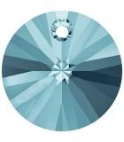 DISCO 6200,6428 CRISTAL SWAROVSKI 8 MM 10 UNIDADES : color:Aguamarina