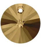 DISCO 6200,6428 CRISTAL SWAROVSKI 8 MM 10 UNIDADES : color:Crystal Bronze Shade