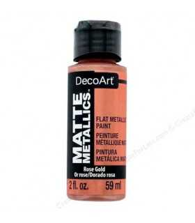MATTE METALLICS DECOART PINTURA METAL MATE 59 ML