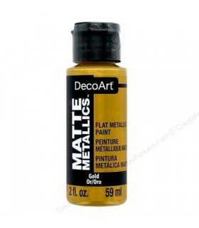MATTE METALLICS DECOART PINTURA METAL MATE 59 ML