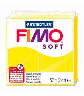 FIMO SOFT COLORES BÁSICOS PASTILLA 56 GRAMOS
