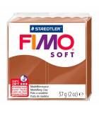 FIMO SOFT COLORES BÁSICOS PASTILLA 56 GRAMOS : Unidades:1 unidad, COLOR NÚMERO:7