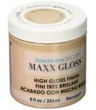 AMERICANA DECOR MAXX GLOSS 236 ML : AMERICANA DECOR MAXX GLOSS:ADMG03 CAPUCCINO