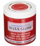 AMERICANA DECOR MAXX GLOSS 236 ML : AMERICANA DECOR MAXX GLOSS:ADMG05 GRANATE