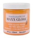 AMERICANA DECOR MAXX GLOSS 236 ML : AMERICANA DECOR MAXX GLOSS:ADMG07 RODAJA NARANJA