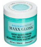 AMERICANA DECOR MAXX GLOSS 236 ML : AMERICANA DECOR MAXX GLOSS:ADMG12 AGUAMARINA