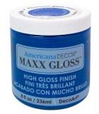 AMERICANA DECOR MAXX GLOSS 236 ML : AMERICANA DECOR MAXX GLOSS:ADMG14 AZUL CRISTAL
