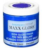AMERICANA DECOR MAXX GLOSS 236 ML : AMERICANA DECOR MAXX GLOSS:ADMG15 ZAFIRO