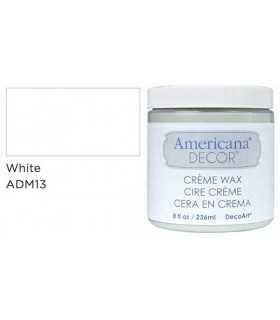 AMERICANA DECOR CERA EN CREMA BLANCA 236 ML