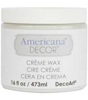 AMERICANA DECOR CERA EN CREMA TRANSPARENTE 473 ML