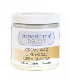 AMERICANA DECOR CERA EN CREMA TRANSPARENTE 236 ML