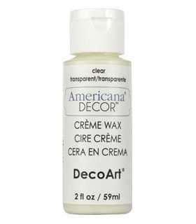 AMERICANA DECOR CERA EN CREMA TRANSPARENTE 59 ML
