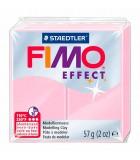 FIMO SOFT COLORES EFECTO PASTILLA DE 56 GRAMOS : FIMO EFFECT:205 ROSA PASTEL