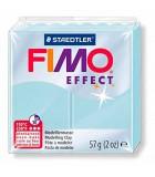 FIMO SOFT COLORES EFECTO PASTILLA DE 56 GRAMOS : FIMO EFFECT:306 AZUL HIELO QUARZ