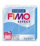 FIMO SOFT COLORES EFECTO PASTILLA DE 56 GRAMOS : FIMO EFFECT:386 AZUL ÁGATA